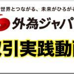 外為ジャパンでのFX取引手順を動画で解説!!