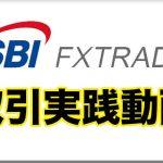 SBI FXトレードの取引手順を動画で解説!!