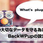 【重要】BackWPupを使って超簡単にWordPressブログのバックアップを取る方法!
