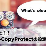 WP-CopyProtectの設定方法と注意点