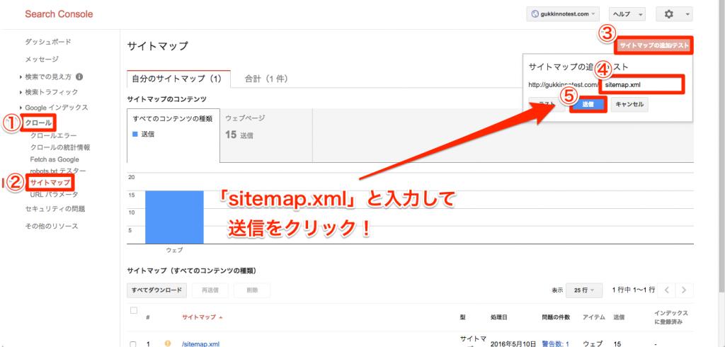 サイトマップ追加